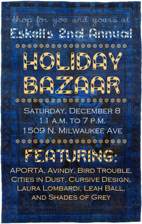 Holiday Bazaar Tomorrow